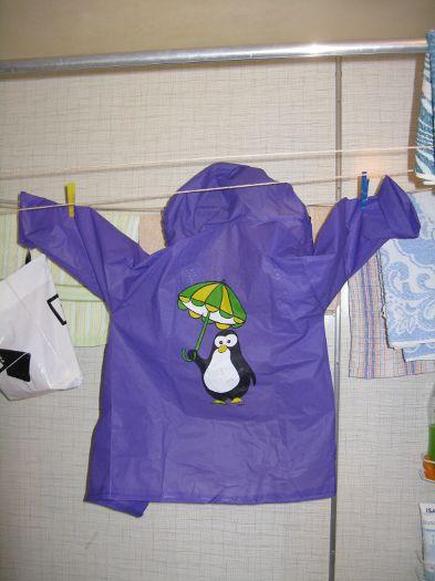 Pláštěnka s tučňákem